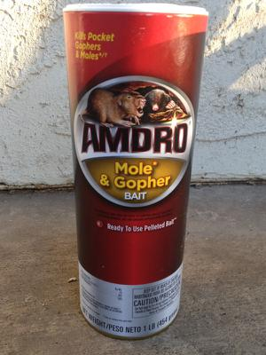 AMDRO Mole & Gopher Bait